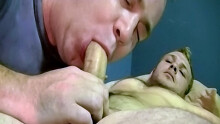 Str8 Taz Cums Hard Getting Sucked