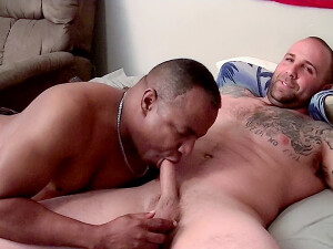 Big+Dude+Duncan+Gets+His+Uncut+Cock+Sucked